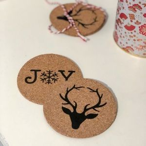 Other - Festive Holiday Coasters